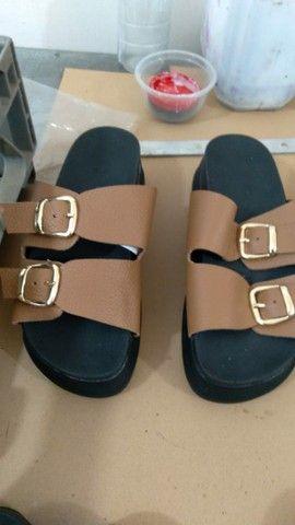 Sandálias de couro - Foto 4