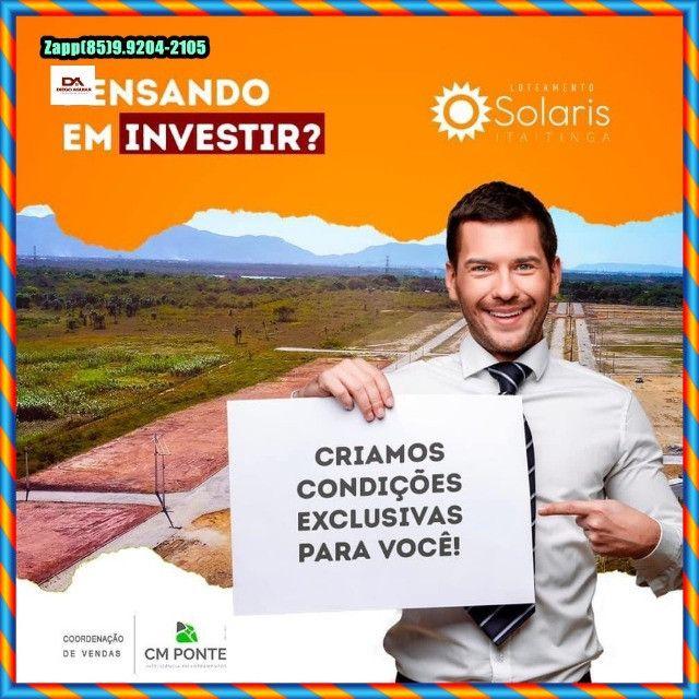 Loteamento Solaris em Itaitinga :::Venha investir já :: - Foto 8