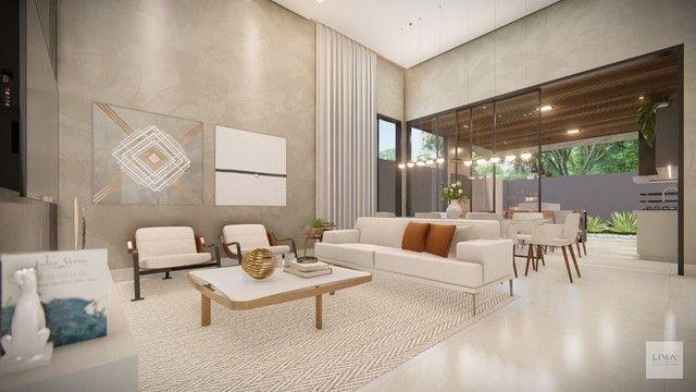 Casa com 3 dormitórios à venda, 200 m² por R$ 1.600.000,00 - Alphaville 3 - Campo Grande/M - Foto 4