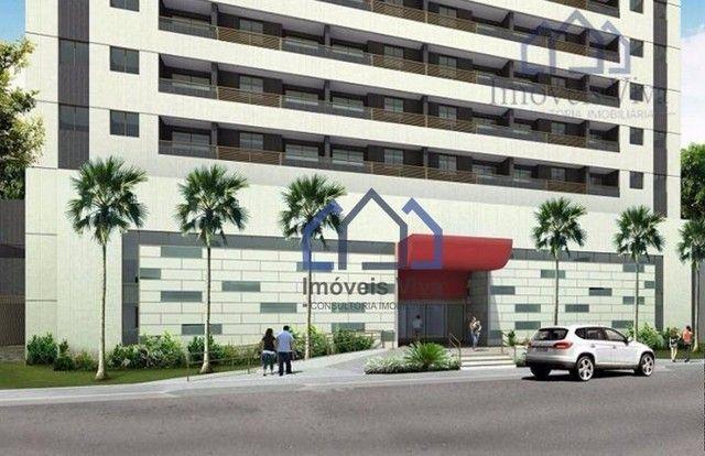 Apartamento com 1 quarto à venda, 32 m² por R$ 290.000 - Soledade - Recife/PE - Foto 2