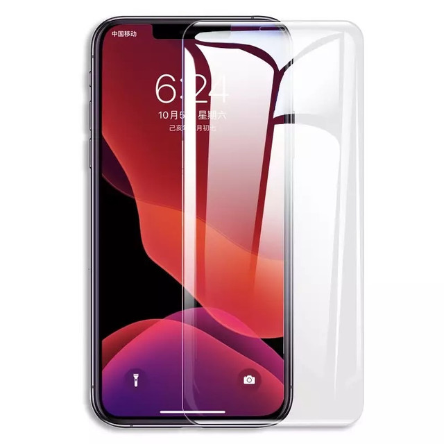 KIT Película traseira e dianteira hidrogel iPhone x - Foto 4