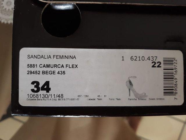 3 Sandálias Vizzano tam 34 - Foto 4
