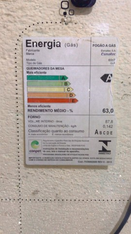 Fogão ESMALTEC 6 bocas  - Foto 2