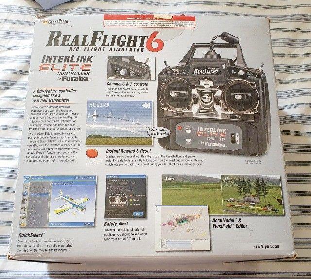 Simulador de aeromodelo RealFlight RF6 original - Foto 4