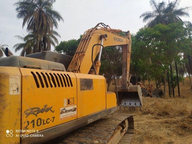 Escavadeira Hyundai LC 7 210 - Foto 5
