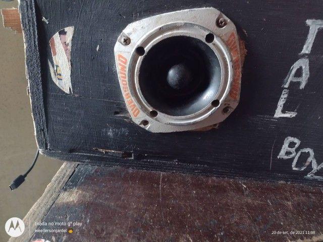 Vendo caixa de som montado leia a discricao - Foto 2