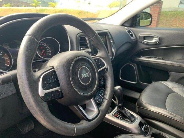 Jeep Compass 2020 4X4 Diesel aceiro troca por Civic Turbo de menor valor! - Foto 7