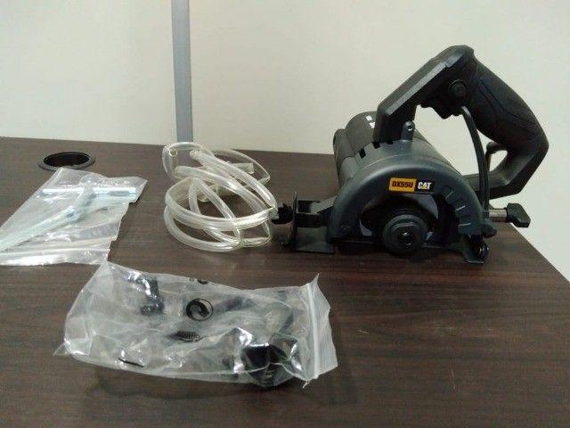 Serra Mármore CAT 1400W 110mm Corte 45/90Graus - Foto 2