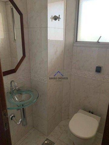 Apartamento com 4 dormitórios para alugar, 215 m² por R$ 3.500,00/mês - Centro - Jundiaí/S - Foto 5