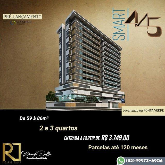 Lançamento Ponta Verde - Entrada a partir de R$3.749,00 e parcelamento em até 120x direto