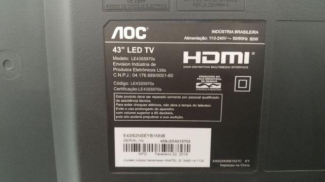 Smart Tv AOC 43'' - Foto 3