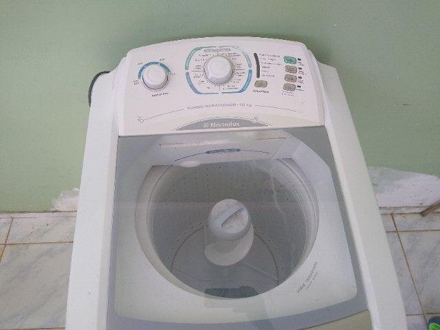 Maquina de Lavar Roupas Electrolux Turbo Cap. 10 Kg - Foto 4
