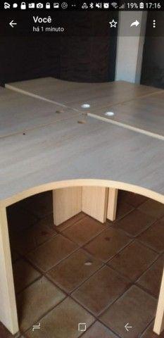 Vendo 4 mesas para escritório  - Foto 6