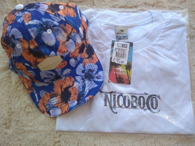 Camisa , boné e bermudas Nico boco - Foto 5