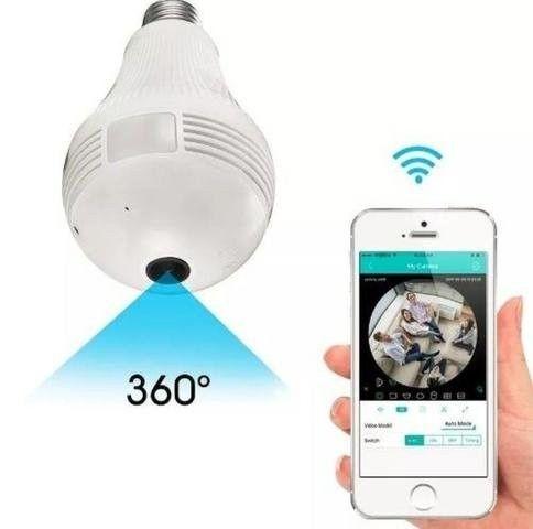 Super Câmera Lâmpada 3D Inteligente 360º - Foto 5