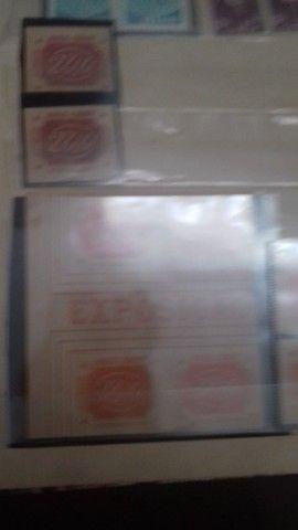 Coleção de selos raros