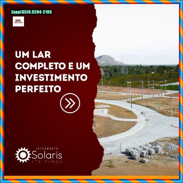 Loteamento Solaris em Itaitinga :::Venha investir já :: - Foto 9
