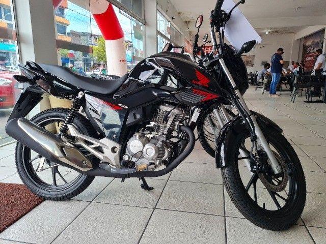 Moto Honda Fan 160 Financiada Entrada: 1.000 Autônomo e Assalariado!!! - Foto 5