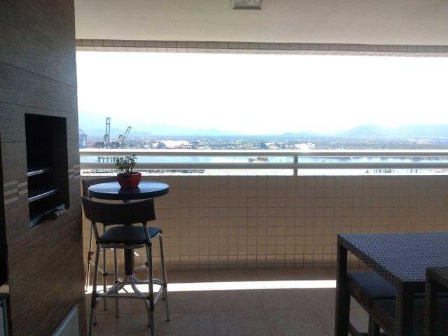 Apartamento à venda com 3 dormitórios em Ponta da praia, Santos cod:212642 - Foto 4