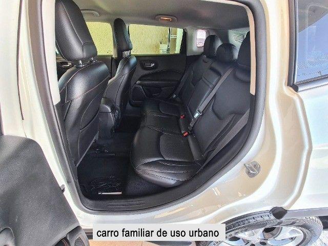 Jeep Compass 2018 Limited Branco Polar (perolizado) revisões na concessionária - Foto 9