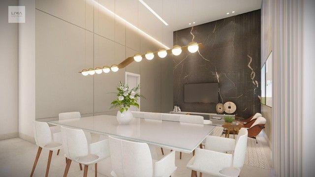Casa com 3 dormitórios à venda, 200 m² por R$ 1.600.000,00 - Alphaville 3 - Campo Grande/M - Foto 2