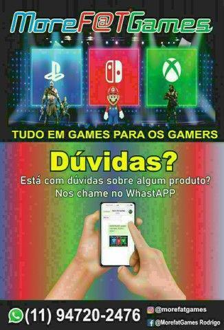 PS4 PRÓ 1TB - Semi Novo em Excelente Estado + 3 Jogos + Garantia (VENHA BUSCAR O SEU !!!) - Foto 4