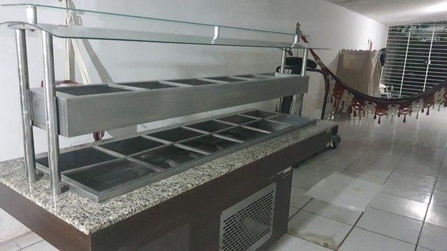 Carro buffet  self service.semi nova