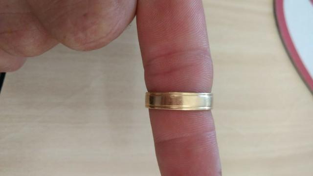 Vendo alianca em ouro 18.klts