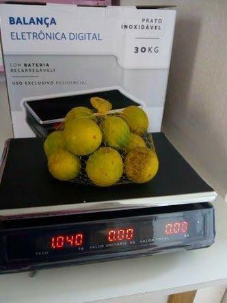 Balança Eletrônica Digital 30kg Novas na caixa