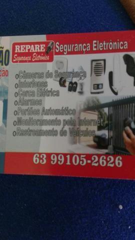Cerca elétrica concertina motor eletrônico