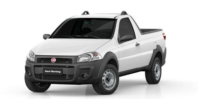Fiat Strada Hard Working CS 1.4 Manual Flex 19/20 0km com ipva 2020