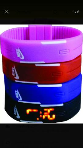 ba6fe0fb2b1 Relógio pulseira digital led