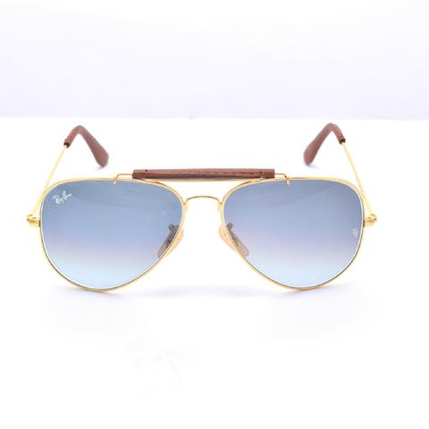 d9c0b4d545f53 Óculos de sol Rayban aviador lente de cristal - Bijouterias ...