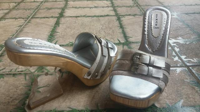 c1635c2eac Tamanco de madeira .salto cristal - Roupas e calçados - Raposa ...