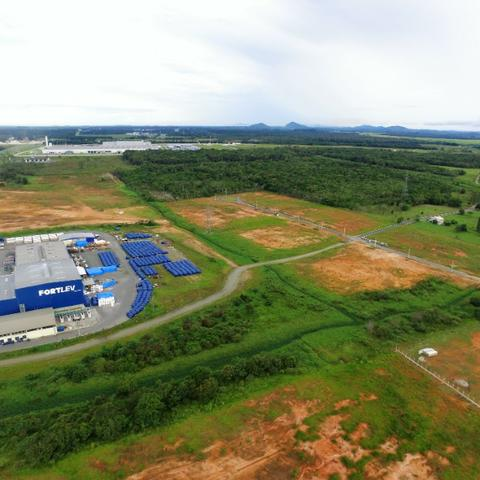 Alugo terreno as margens da BR 101 com pista marginal - Foto 12