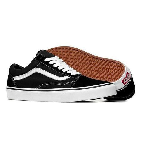 f88ef0175b4 Tênis Vans Old Skool Preto Masculino E Feminino