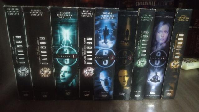 Arquivo X as 9 temporadas