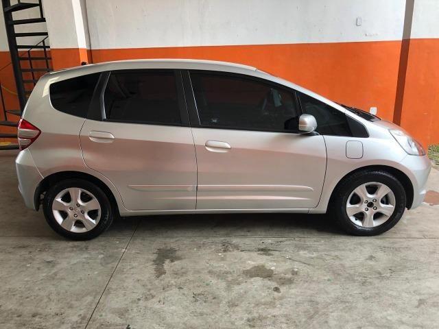 Honda Fit Lxl 1.4 Flex 8V 2010 Prata Completo Muito Conservado - Foto 11
