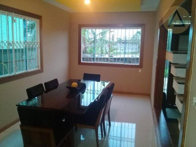Atlântica imóveis tem excelente casa para venda no bairro Extensão Serramar em Rio das Ost - Foto 5