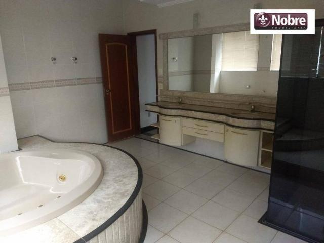 Sobrado com 4 dormitórios para alugar, 289 m² por r$ 3.520/mês - plano diretor sul - palma - Foto 12