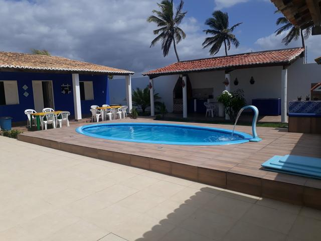 Aluga se Casa de praia com piscina 23 e 24/11 valor 450 ultima vaga esse ano - Foto 3