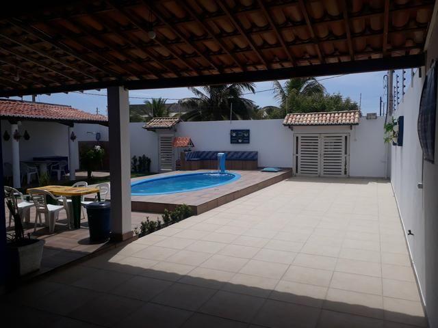 Aluga se Casa de praia com piscina 23 e 24/11 valor 450 ultima vaga esse ano - Foto 2