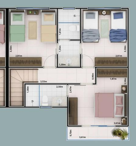 Condomínio de sobrados próximo ao Setor Bueno - 3 Suítes - Foto 12
