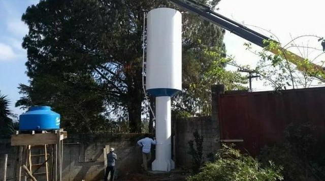 Caixa d agua e reservatório metálico - Foto 2