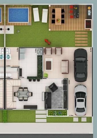 Condomínio de sobrados próximo ao Setor Bueno - 3 Suítes - Foto 18