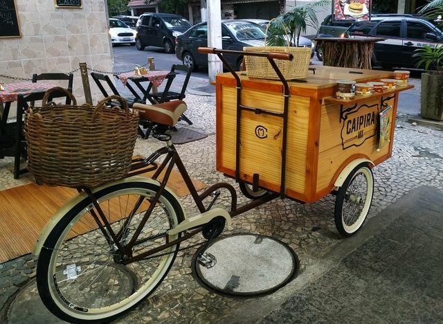 Triciclo retrô lindo! Ótimo para feiras e eventos - Foto 5