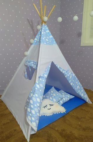 Cabana Infantil Barraca Tenda Com Colchonete - Foto 6