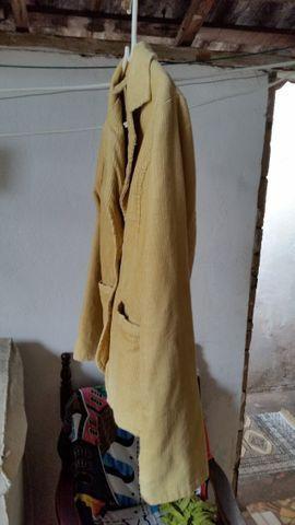 Blazer Veludo Amarelo - Foto 4
