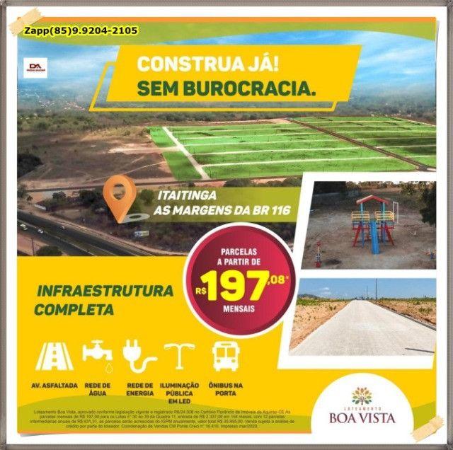Lotes em Itaitinga- Investimento e lazer proximo de fortaleza!<! - Foto 19