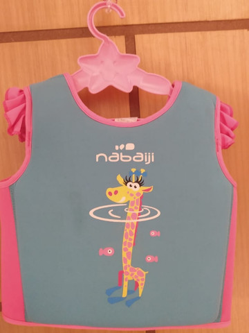 Colete Anti Afogamento Infantil Menina - Nabaiji - Foto 2